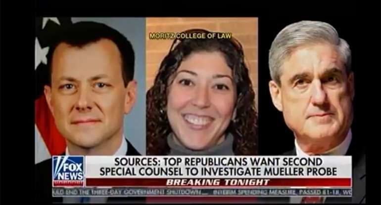 DOJ Starts Recovery Of Missing Strzok-Page Texts -- Puppet