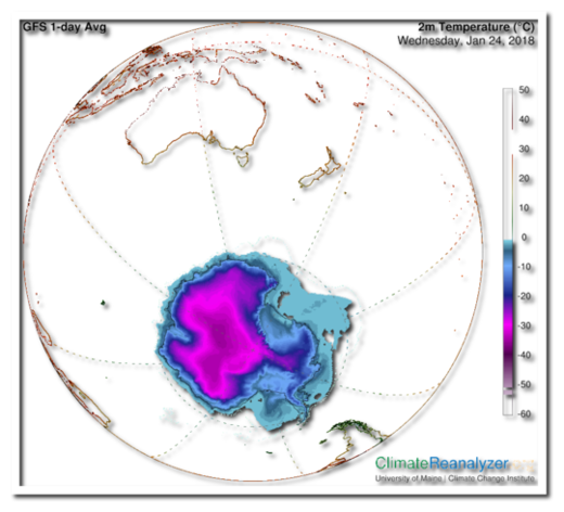 Antarctic Temp