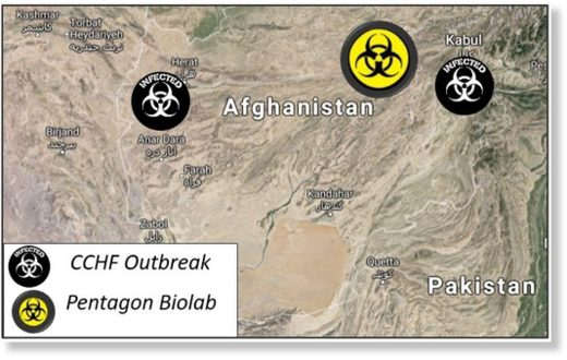 CCHF outbreak bio-lab