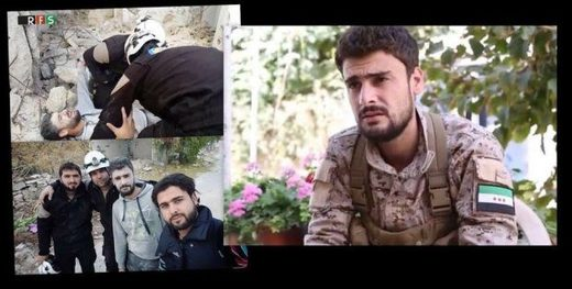White Helmets 'rescue'