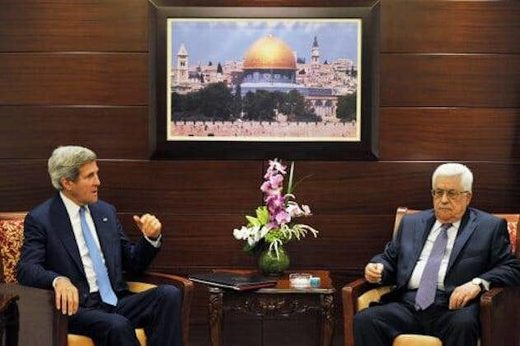 "Say what? John Kerry tells Palestinian Authority officials ""Trump will not remain in office long"""