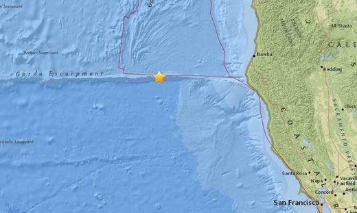 California earthquakes