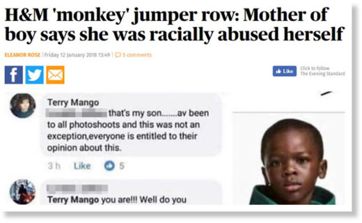 HM monkey boy MOM abused