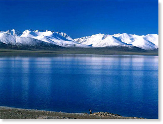 Qinghai Lake, Largest Saline Lake in China