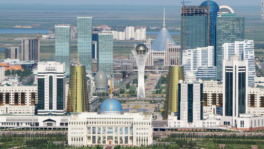 Astana Kazakhstan, another country where Russia made peace with the local culture