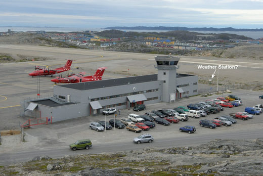 greenland weather station airport