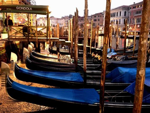 Venetian water levels reached their lowest two years ago, which halted water transportation for a day.