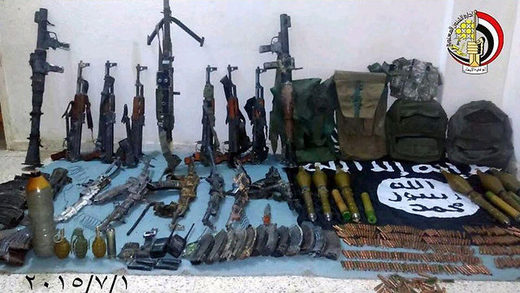 International arms watchdog finds that most ISIS weaponry was purchased by the United States and Saudi Arabia before being shipped to opposition forces in Syria and Iraq.