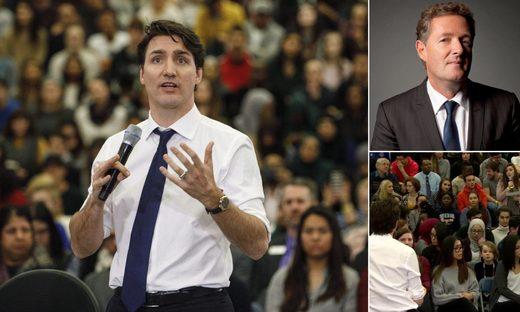 Piers Morgan Justin Trudeau