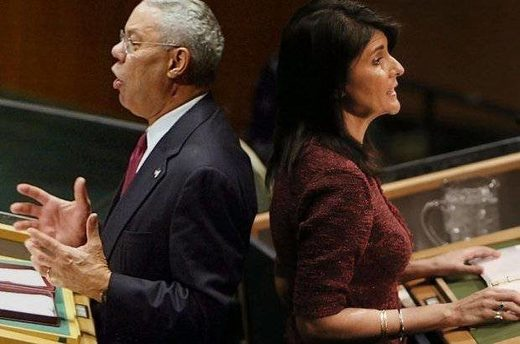 colin powell and nikki haley