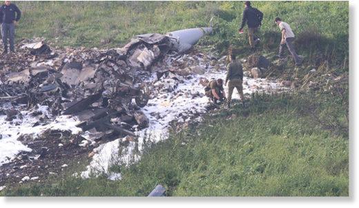 Israeli jet shot down