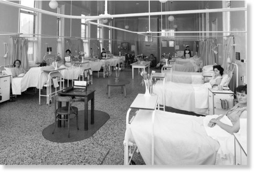 hospitals of the 1950s and 60s
