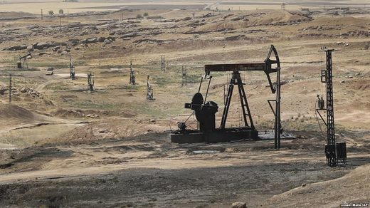 Oil field in northeastern Syria