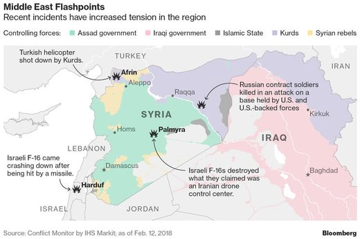 syria flashpoint map