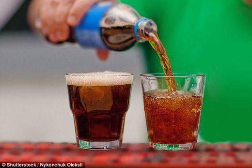 pepsi coca cola fizzy drinks