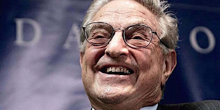 Image result for george soros laughing