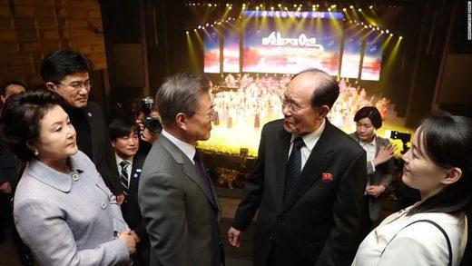 Kim Yo Jong korea olympics