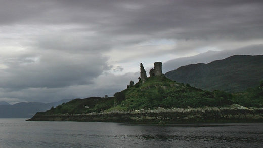 'Massive fireball' lightning strike damages ancient Scottish castle