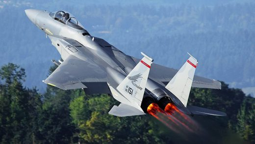 F-15 fighters