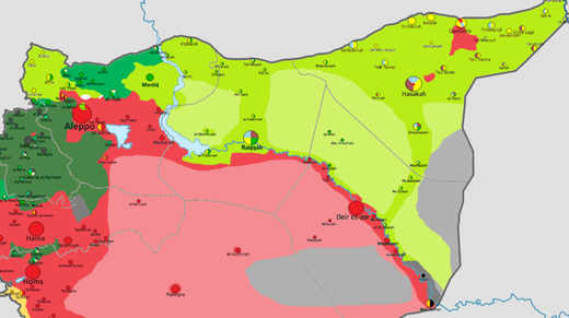 sfd syria map