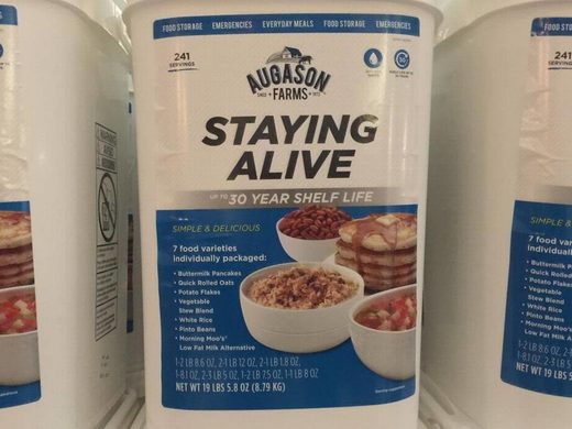Staying alive Jim Bakker show products