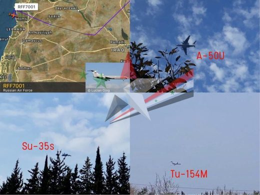 The Russian Aerospace Forces deployed warplanes at their Hmeimim airbase