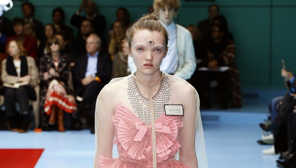 906b7aee8 Disgusting  Gucci puts on worst fashion show in  post-human  history ...