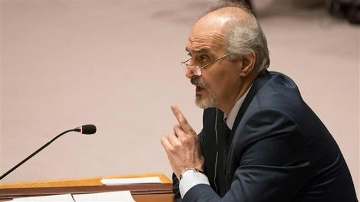 Syria's Ambassador to the UN Bashar Jaafari