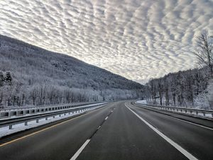I-90 in the Berkshire Mountains, MA