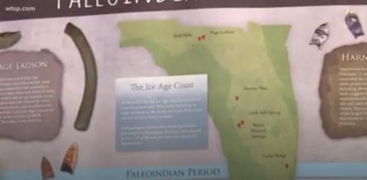 Florida ice age coast