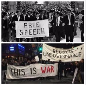 Activism then and now