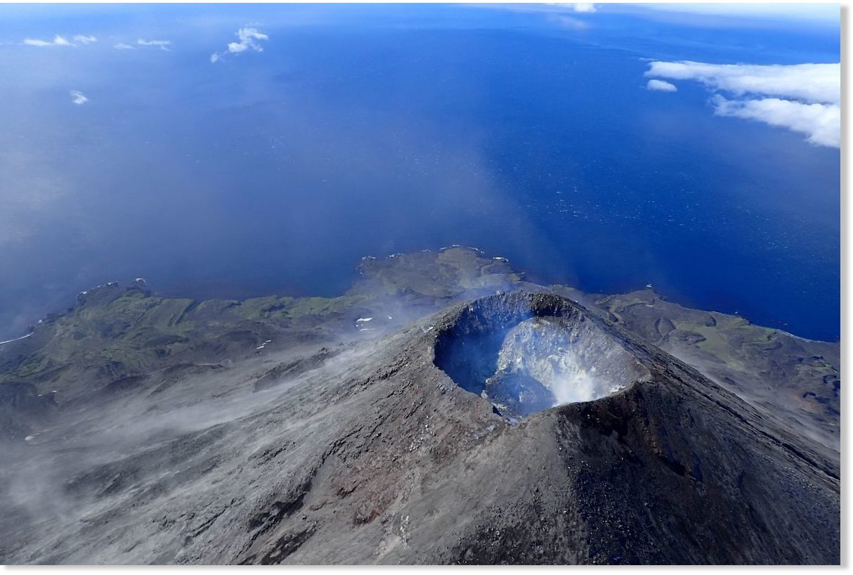 East Orange Focus >> Cleveland volcano in Alaska erupts, sending ash cloud miles into the sky -- Earth Changes ...