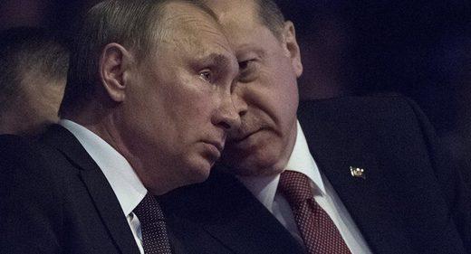 ウラジミールプーチンとレセップ・タイイップ・エルドガン