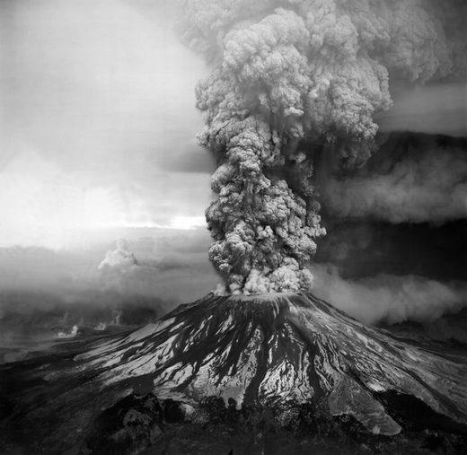 The eruption of Mount St Helens in 1980 caused the deaths of 57 people