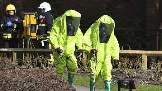 hazmat suits Sergey Skripal