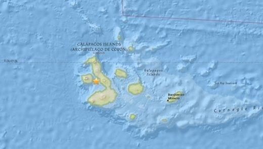 galapagos earthquake march 2018