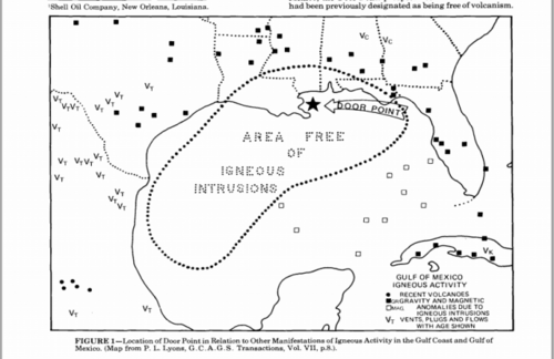 Igenous intrusion free in Gulf of Mexico
