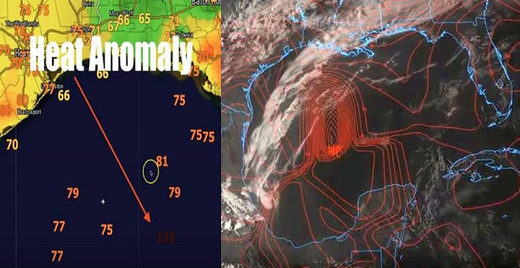 Gulf of Mexico Heat Anomaly