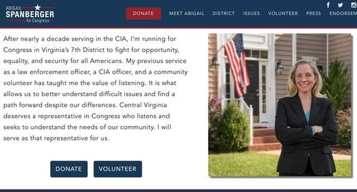 Abigail Spanberger campaign website