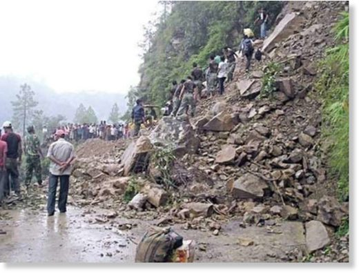 At least two women were killed as avalanche hit them at Shudmela Darga