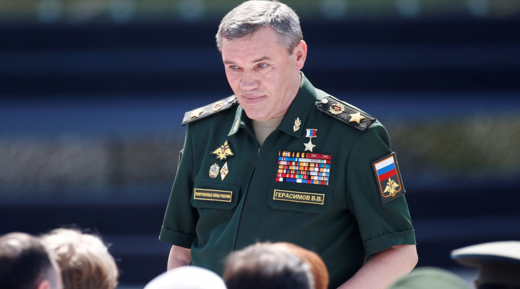 Chief of the General Staff of Russian Armed Forces Valery Gerasimov