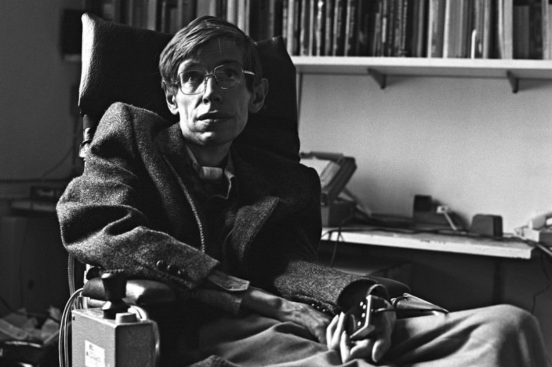 Stephen Hawking Image: Hawking's Paradox: A Brief History Of Stephen Hawking And