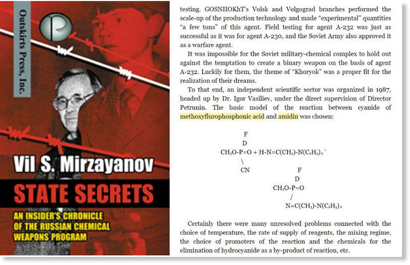 State Secrets: An Insiders Chronicle of the Russian Chemical Weapons Program