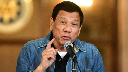 Rodrigo Duterte withdraws ICC treaty