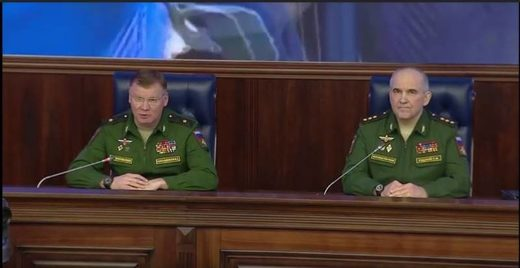 Konashenkov Syria briefing
