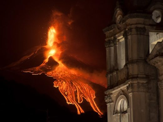 Radon Tells Unexpected Tales of Mount Etna's Unrest