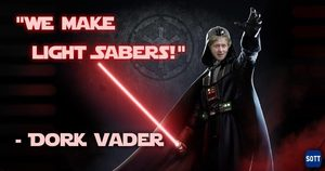 boris johnson light sabers
