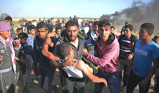Gaza Strip wounded