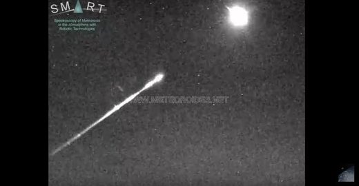 Fireball over Spain