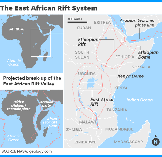 East African Rift system